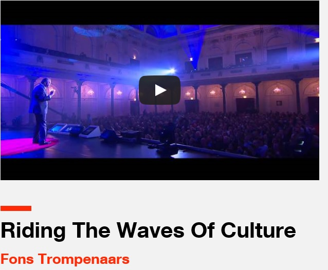 Riding The Waves of Culture, Fons Trompenaars