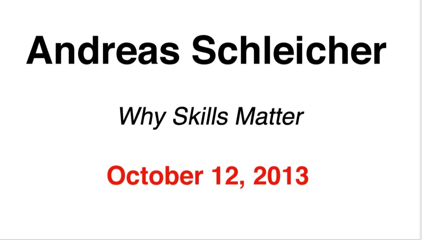 why skills matter